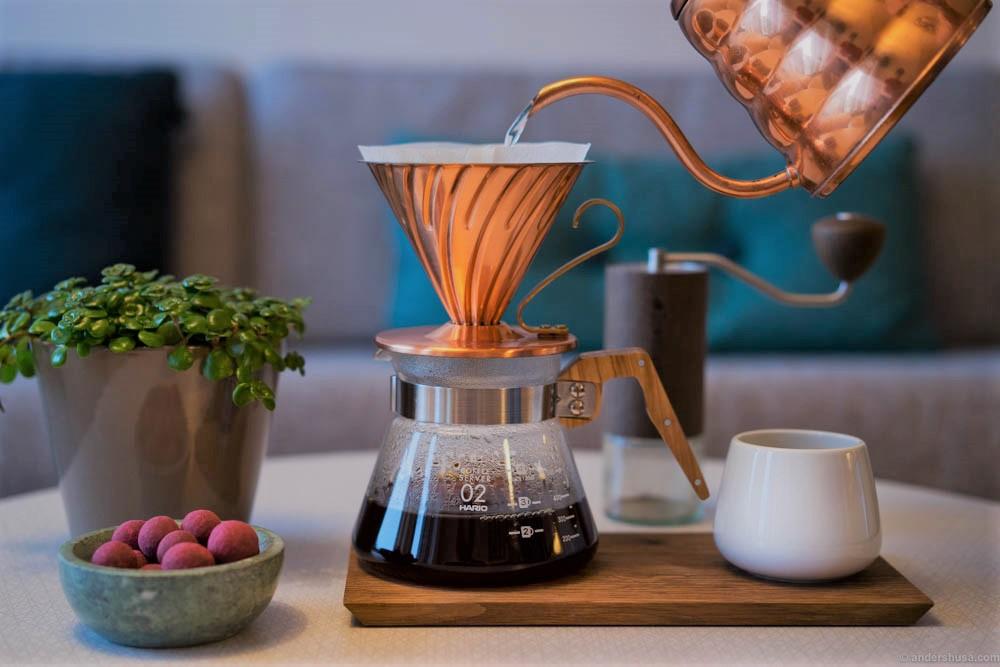 تاثیر آب در کیفیت قهوه خوشمزه